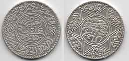 + MAROC + 10 DIRHAMS 1331 (1913 )+  YOUSSEF + TRES TRES BELLE + - Marokko