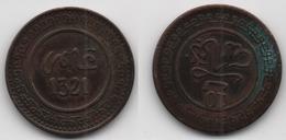 + MAROC + 10 MAZUNAS 1321  FES (1903 ) +  TRES BELLE + - Marokko
