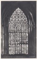Postcard The Great East Window York Minster RP By Walter Scott My Ref  B13495 - York