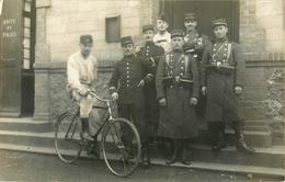 BELLE CARTE PHOTO  POSTE DE POLICE - MILITAIRE - Police - Gendarmerie