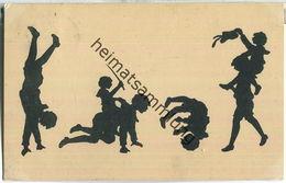 Silhouette - Kunststücke - M. Behrens - Verlag A. R. & C. I. B. - Silhouetkaarten
