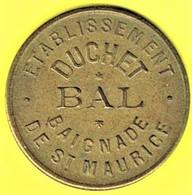 Nécessité - Jeton De Bal - DUCHET à SAINT-MAURICE (94) - Monétaires / De Nécessité