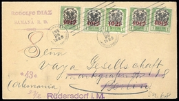 1917, Dominikanische Republik, 182, 194, Brief - Dominikanische Rep.