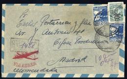 1936, Uruguay, 695, 562 (2), Brief - Uruguay
