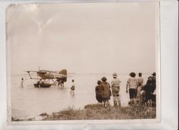 SCHNEIDER CUP RACE POSTPONED GLOUCESTER NAPIER IVB  25*20CM Fonds Victor FORBIN 1864-1947 - Aviación