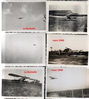 6 Photos Armée De L'air France Mai-juin 1940 Avions - 1939-45