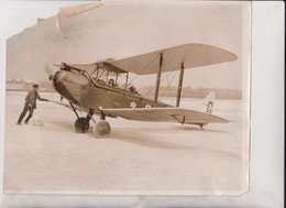 SEE SCAN DUCHESS AIR TRIP BEDFORD BARNARD CROYDON AFRICA   25*20CM Fonds Victor FORBIN 1864-1947 - Aviación