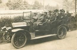BELLE CARTE PHOTO  ANCIENNE VOITURE - TRANSPORT - Taxi & Carrozzelle