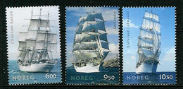 Norway Norge 2005  The Square Riggers, Sailing Ships  Mi  1541-1543  MNH(**) - Norway
