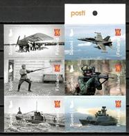 Finland 2018 Finlandia / Military Forces Defense Ships Airplanes MNH Militares Defensa Barcos Aviones / Cu10616  4-26 - Militares