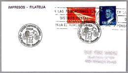 Exposicion Filatelica Gracia - AJEDREZ - MOTO - TENIS - CHESS. Barcelona 1987 - Ajedrez