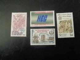 FRANCE  1981     N° 2140-45-70-2171   NEUF**  20% - France