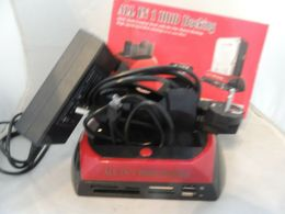 ALL IN 1 HDD DOCKING SATA IDE USB WIN MAC SCATOLO APERTO X CONTROLLO K4 - Other