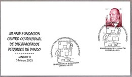 CENTRO OCUPACIONAL DISMINUIDOS PSIQUICOS - Psychics Handicapped Occupational Center. Langreo, Asturias, 2003 - Handicap