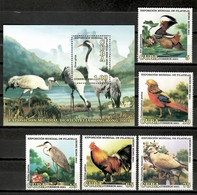 Cuba 2001 / Birds MNH Vögel Aves Oiseaux / Cu11114  4-26 - Pájaros