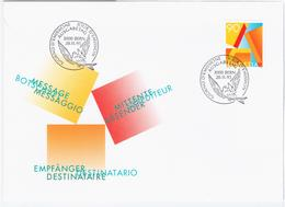 Switzerland Swiss Schweiz Svizzera Helvetia 1995 FDC Post Service, Letter - FDC