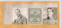 Australia 2015 Victoria Cross Winners 1 John Bisdee & 2 Guy Wylly 2nd Boer War On Domestic Letter Unpostmarked - Lettres & Documents