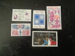 FRANCE  1980   N° 2087-91-94-2106-2114   NEUF**   20% - France