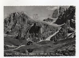 San Martino Di Castrozza (Trento) - Baita Segantini Con La Cima Mulaz - Viaggiata Nel 1955 - (FDC16452) - Trento