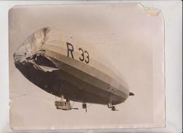 PULHAM THE R33 NORFOLK NORTH SEA  25*20CM Fonds Victor FORBIN 1864-1947 - Aviación