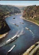 AO89 Loreley, Felsen - River Boats - Loreley