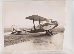 WOMAN LONGEST FLIGHT LADY BAILEY ABE STAG LANE AERODROME MOTH SOUTH AFRICA KENYA  25*20CM Fonds Victor FORBIN 1864-1947 - Aviación