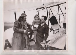 TEAR LEFT SIDE BROOKLAND'S TRACK WENDY SHIPWRIGHT   25*20CM Fonds Victor FORBIN 1864-1947 - Aviación