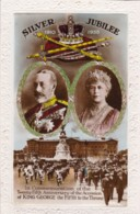 AQ52 Royalty - Silver Jubilee, King George V - RPPC - Royal Families