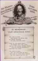 AQ52 Royalty - King George V, In Memoriam - Royal Families