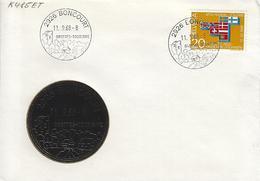 Switzerland 1968  BONCOURT  11.9.68  Mi.852 - Covers & Documents