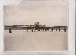 NEW GERMAN MONOPLANE BRISTOL JUPITER CROYDON  LTD ADC AIRCRAFT   25*20CM Fonds Victor FORBIN 1864-1947 - Aviación