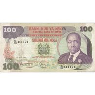 TWN - KENYA 23c - 100 Shillings 1.7.1984 E/38 444421 F+ - Kenia