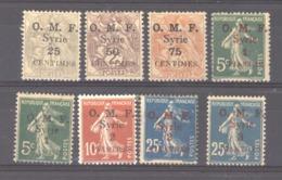 Syrie  :  Yv  31-38  * - Syria (1919-1945)