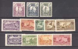 Syrie  :  Yv  200...209  *  12 Valeurs - Syria (1919-1945)