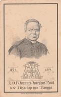 Joannes Josephus Faict-leffinghe -bisschop 1894 - Devotieprenten