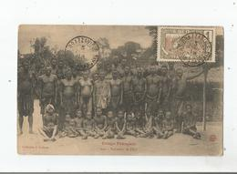 CONGO FRANCAIS 242 PAHOUINS DE L'EYO (BELLE ANIMATION) 1918 - Congo Français - Autres