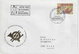 Switzerland 1968  Bureau De Automobile  5.10.68  Mi.890 - Covers & Documents