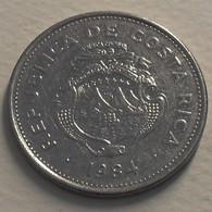 1984 - Costa Rica - 2 COLONES - KM 211.2 - Costa Rica