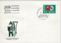 Switzerland 1968  Automobil-Postbureau  11.5.68  Mi.858 - Switzerland