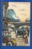 BERLIN  Bahnhof  FRIEDRICHSTRASSE    Animées   écrite En 1908 - Allemagne