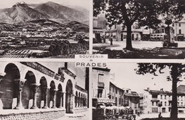 "66. PRADES. RARETE. CARTE MULTI VUES. 4 VUES "" SOUVENIR DE PRADES "". ANNEES 50 - Cartes Postales"