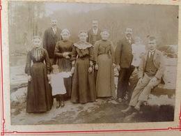 Aigrefeuille Sur Maine - Coiffe & Costume Du Village - Photo Ancienne Début 1900 Albumine - RARE !!! - Aigrefeuille-sur-Maine