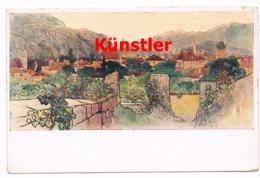 193 Toni Grubhofer Bozen Bolzano Künstlerkarte - Bolzano (Bozen)