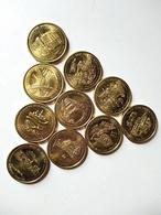 """France - Médaille Souvenir """"Collection Européenne"""" - Touristiques"""
