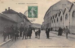 54-BACCARAT- RUE DES CRISTALLEREIES - Baccarat