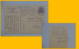 Entier Postal Marianne 1963, Le Raincy, Autographe Pasteur Namblard, Ref 440; PAP05 - Kartenbriefe
