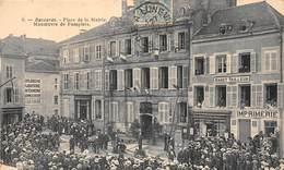 54-BACCARAT- PLACE DE LA MAIRIE MANOEUVRE DE POMPIERS - Baccarat