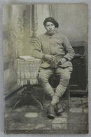 Carte Postale Photo - Soldat Assis - 16/12/ 1918 - Salonique Mey - France