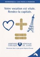 PUBLICITE--SANTE--Assitance Hôpitaux Publique De PARIS---cartcom--voir 2 Scans - Santé