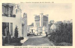 75-PARIS EXPOSITION INTERNATIONALE DES ARTS DECORATIFS 1925-N°1041-G/0137 - Mostre